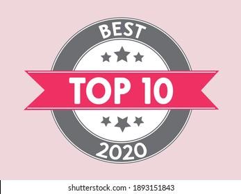 top 10 best 2020 icon pink symbol