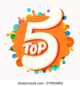 Top 5 icon.