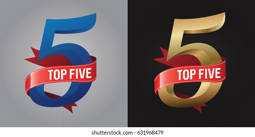 Top 5. Lettering