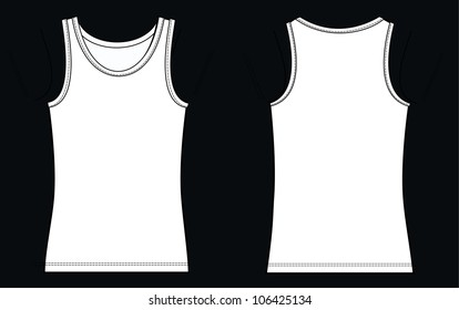 Tank Top Template Images Stock Photos Vectors Shutterstock
