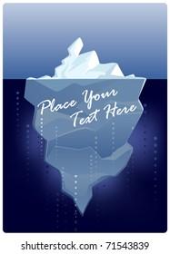 top of the iceberg