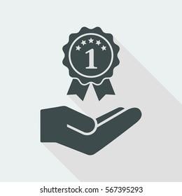 Top rating award - Minimal modern icon