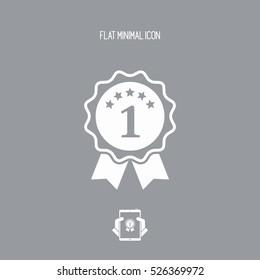 Top rating - Vector flat minimal icon