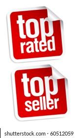 Top seller stickers set