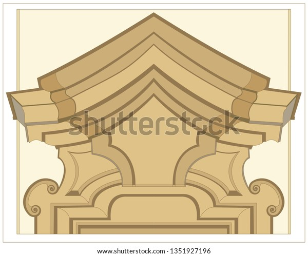 The top window molding, according to an important architect, contains special, decorative and useful elements.