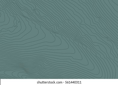 Topographic map background concept with space for your copy.Vector abstract illustration.Geography concept.