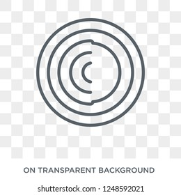 Tor icon. Trendy flat vector Tor icon on transparent background from Cryptocurrency economy and finance collection. High quality filled Tor symbol use for web and mobile