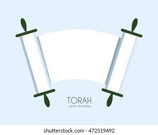 Torah scroll icon