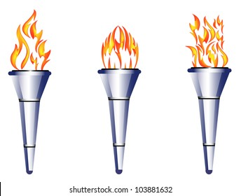 torch, flame, fire