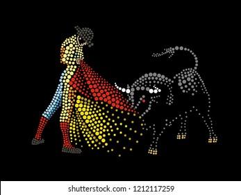 The toreador with a bull