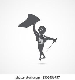 Toreador vector icon