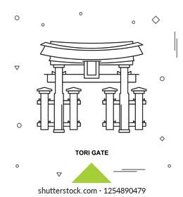TORI GATE Landmark