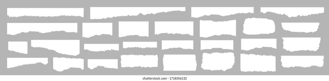 Papierset-Vektorgrafik, geschichtet. Vektorgrafik