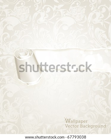 Torn paper, Wallpaper background