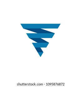 Tornado logo symbol isolated,  Typhoon vector illustration