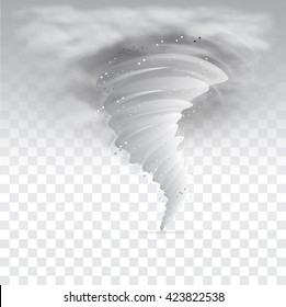 Tornado Sky Illustration.Vector