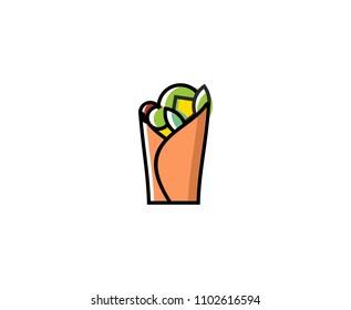 Tortilla sandwich logo