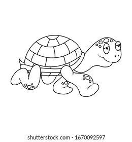 Turtle Coloring Images Stock Photos Vectors Shutterstock