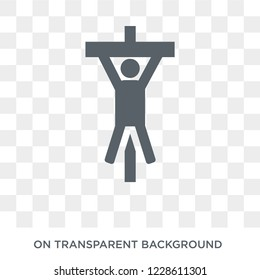 torture icon. torture design concept from Army collection. Simple element vector illustration on transparent background.