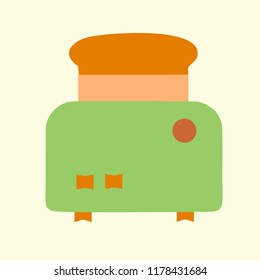 toster vector icon