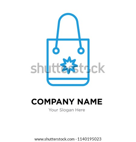 Tote bag company logo design template stock vector royalty free tote bag company logo design template tote bag logotype vector icon business corporative maxwellsz