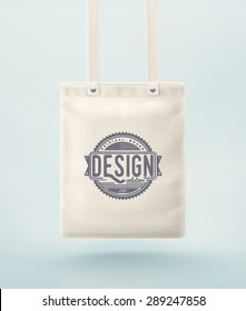 Tote bag for design, eps 10