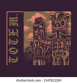 Totem Syndicate Illustration