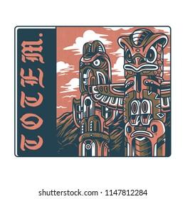 Totem Syndicate Light Illustration