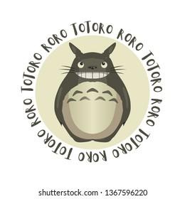 Totoro Roro Vector
