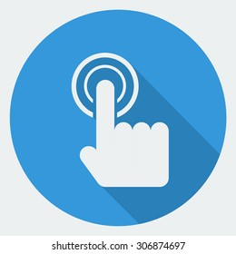 Touch Fingerprint Scan Icon