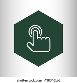 touch gesture icon