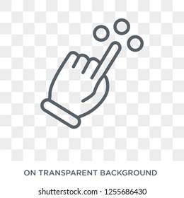 Imágenes, fotos de stock y vectores sobre Touch Move Icon