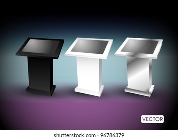 touch screen terminal stand