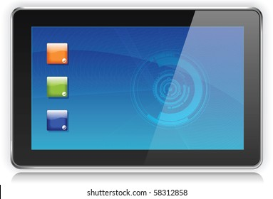 Touchpad oder Tablet-PC