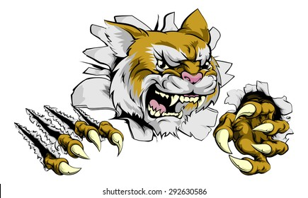 wildcat mascot images stock photos vectors shutterstock rh shutterstock com Wildcat Mascot Designs Wildcat Mascot Vector Art