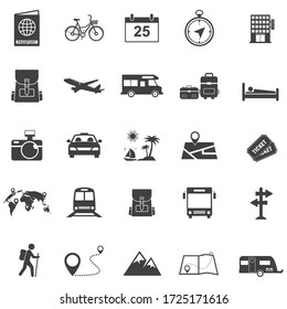 Tour and travel icon set,  transport icon for Web and Mobile App. vector illustration