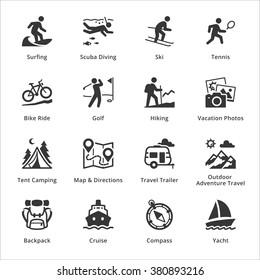 Tourism & Travel Icons - Set 4