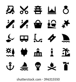 Tourism and Travel Vector Icons 12
