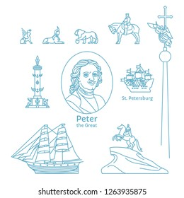 Tourist attractions of St. Petersburg, monuments