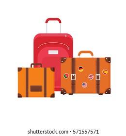 Tourist elements design. Vector illustration