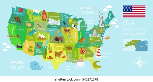 Usa National Parks Map Stock Vectors, Images & Vector Art | Shutterstock