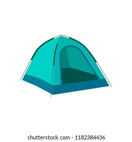 Tourist tent icon. Camping tent house. Web design element for UI app. Vector illustration