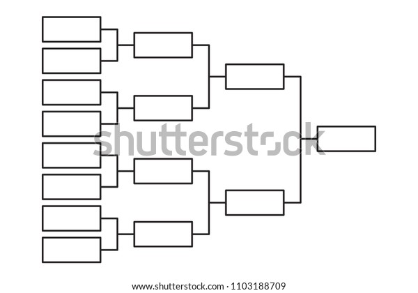 Competition Bracket Template from image.shutterstock.com