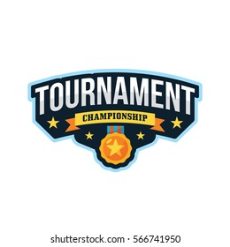 Tournament Sports League Logo Emblem