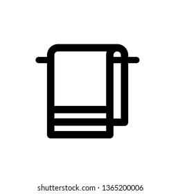 Towel icon,vector illustration. Flat design style. vector towel icon illustration isolated on White background, towel icon Eps10. towel icons graphic design vector symbols.