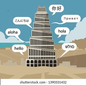 tower of babel  old testament tale