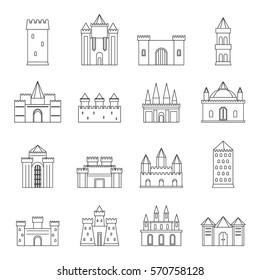Castle Outline Images Stock Photos Vectors Shutterstock