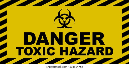 toxic waste sign - 450×225
