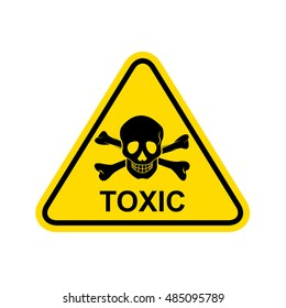 Toxic Sign. Vector