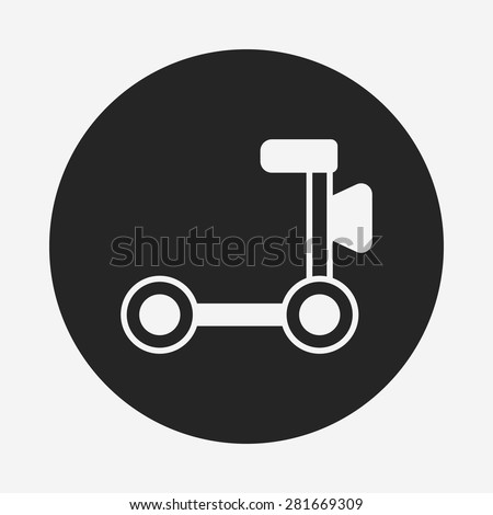 Toy Car Icon Stock Vector Royalty Free 281669309 Shutterstock